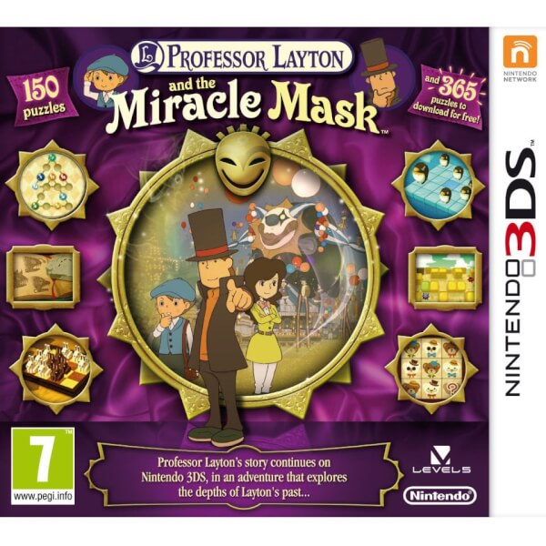 Professor Layton and the Miracle Mask - Digital Download