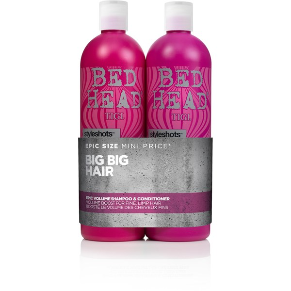 TIGI Bed Head Epic Volume (schlaffes Haar) Zwillingspack