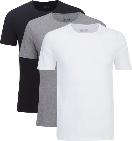 BOSS Hugo Boss Men's Three Pack T -Shirts - Assorted