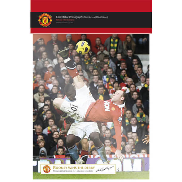 Manchester United Rooney Derby Goal - 10