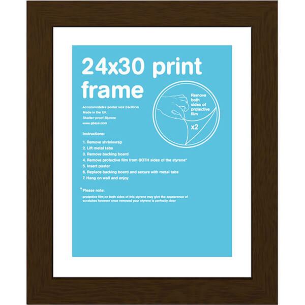 Walnut Frame - 24 x 30cm