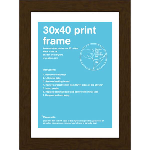 Walnut Frame - 30 x 40cm