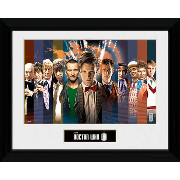 Doctor Who 11 Doctors - 30 x 40cm Collector Prints