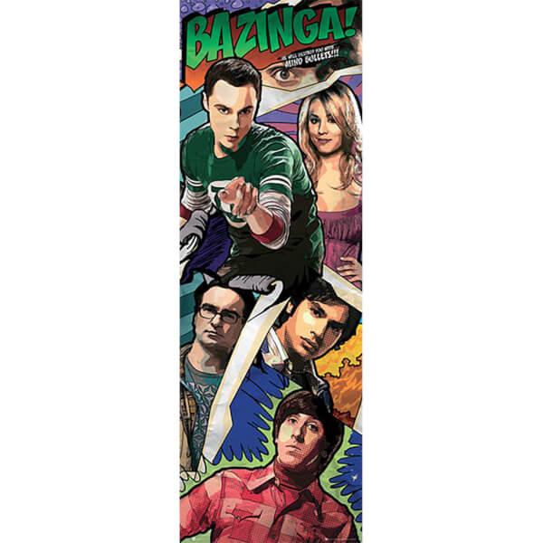 The Big Bang Theory Comic - Door Poster - 53 x 158cm