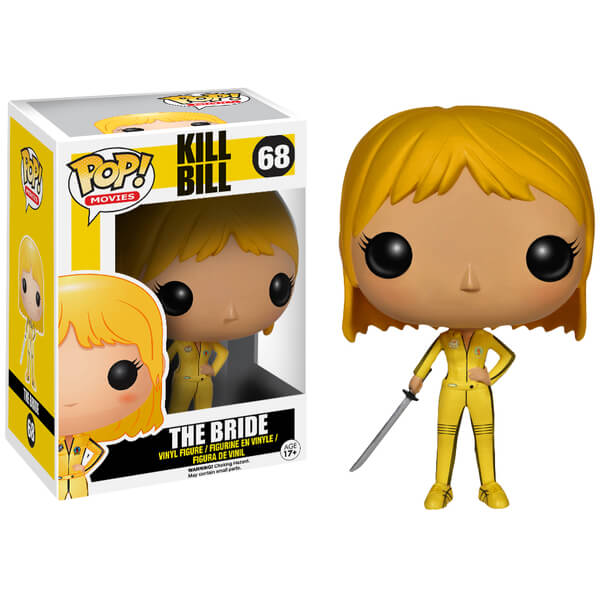 Kill Bill The Bride Beatrix Kiddo Pop! Vinyl Figure