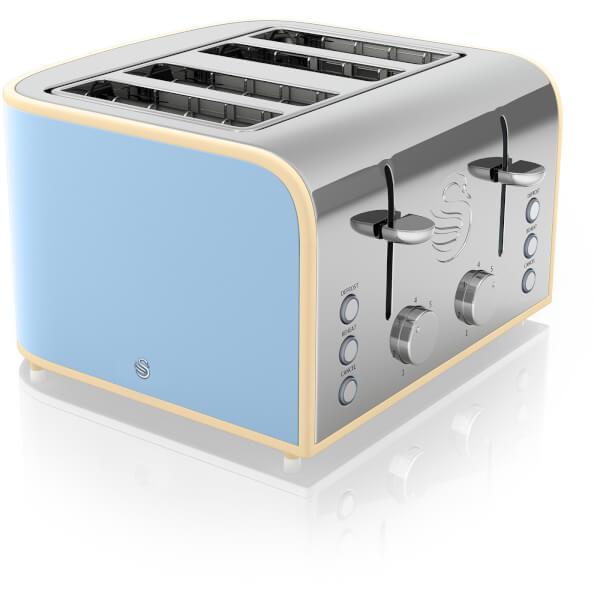 Swan ST17010BLN 4 Slice Toaster - Blue