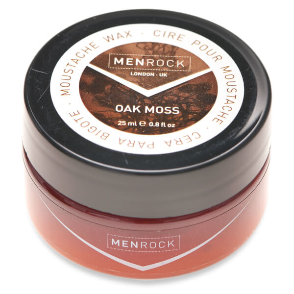 Men Rock Oak Moss Moustache Wax (25ml)