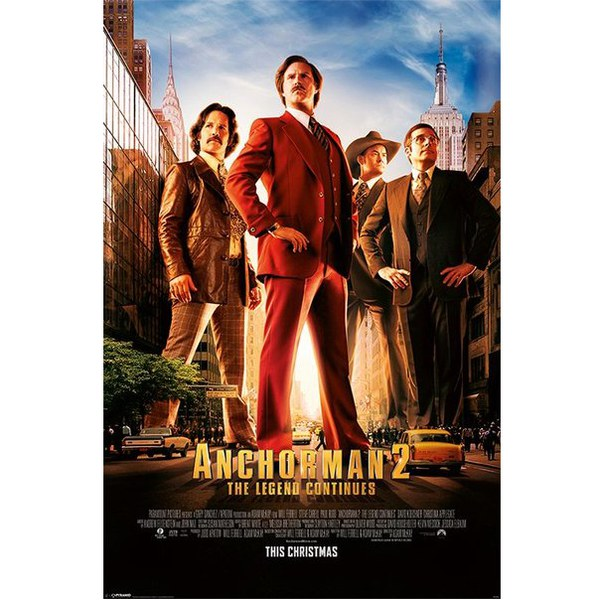 Anchorman 2 One Sheet - Maxi Poster - 61 x 91.5cm
