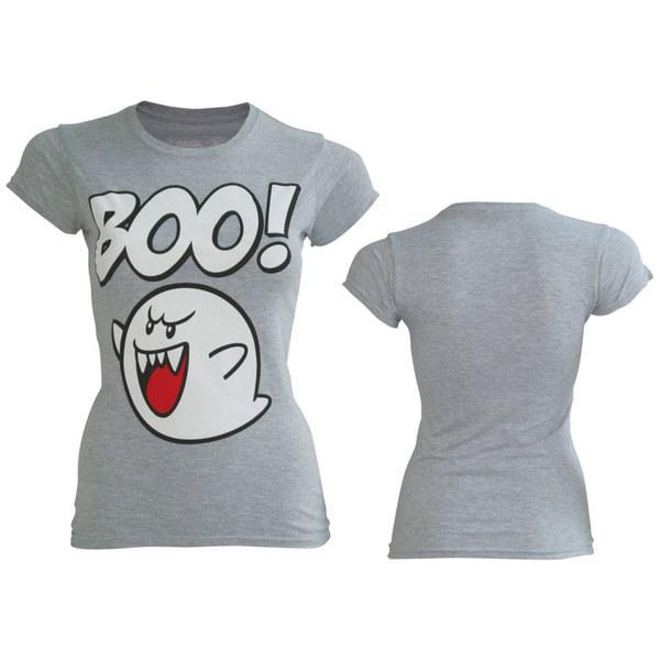 Boo - T-Shirt Women's (Grey)