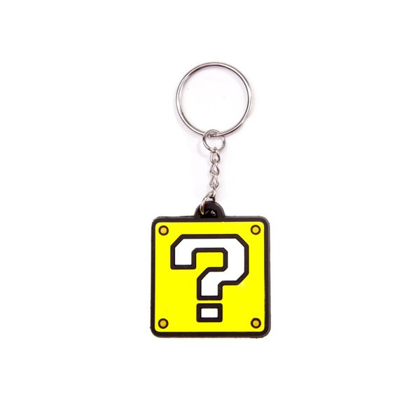 Question Block - Rubber Keychain