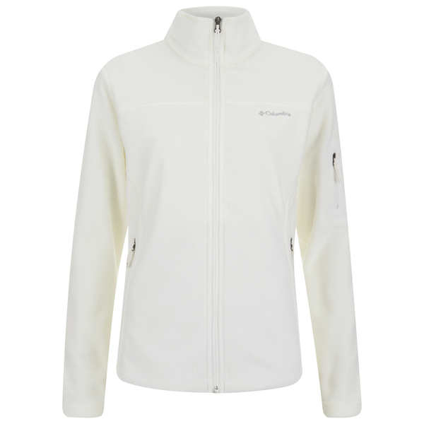 Pull Polaire Femme Fast Trek II Polaire 250g - Columbia - Blanc