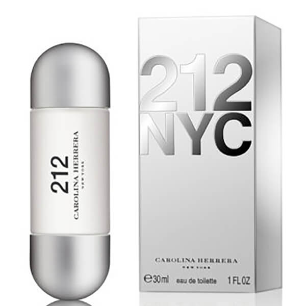 Carolina Herrera 212 NYC Eau de Toilette 30ml