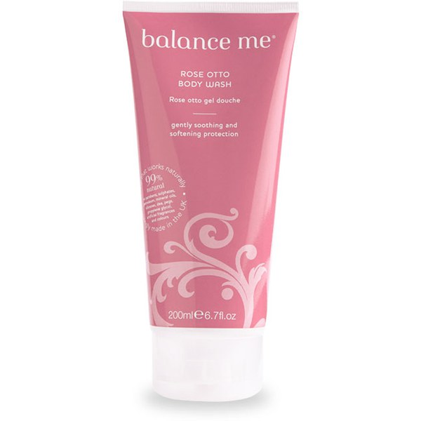 Balance Me Rose Otto Body Wash