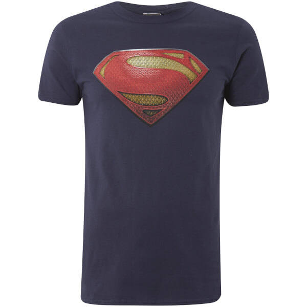 Man of Steel Men's T-Shirt - Textured Logo