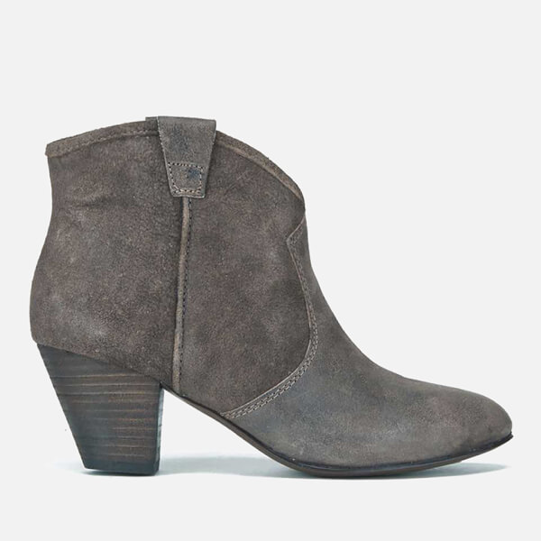 Ash Women's Jalouse Softy Heeled Ankle Boots - Topo
