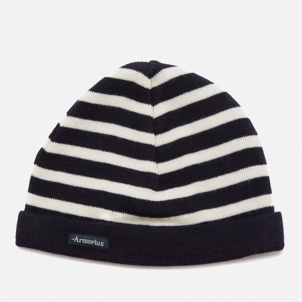 Armor Lux Men's Beanie - Navy/Nature