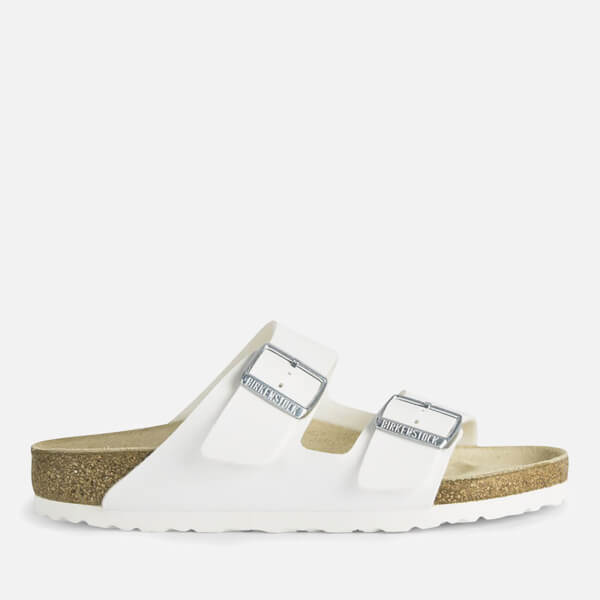 d22ebec9467f Birkenstock Women s Arizona Slim Fit Double Strap Sandals - White  Image 1