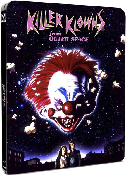 Killer klowns from outer space steelbook edition for Killer klowns 2