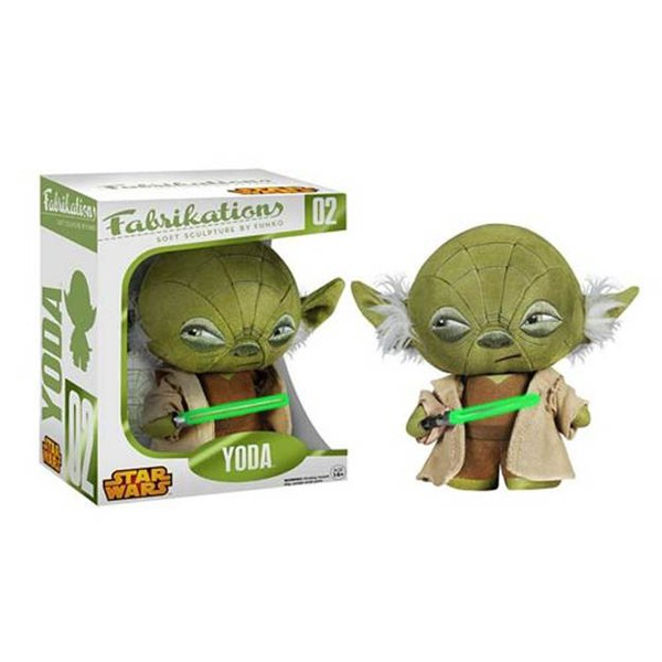 Star Wars Yoda Fabrikations Plush Figure