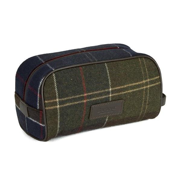 7c5a169208 Barbour Men s Tartan Wash Bag - Classic Tartan  Image 4