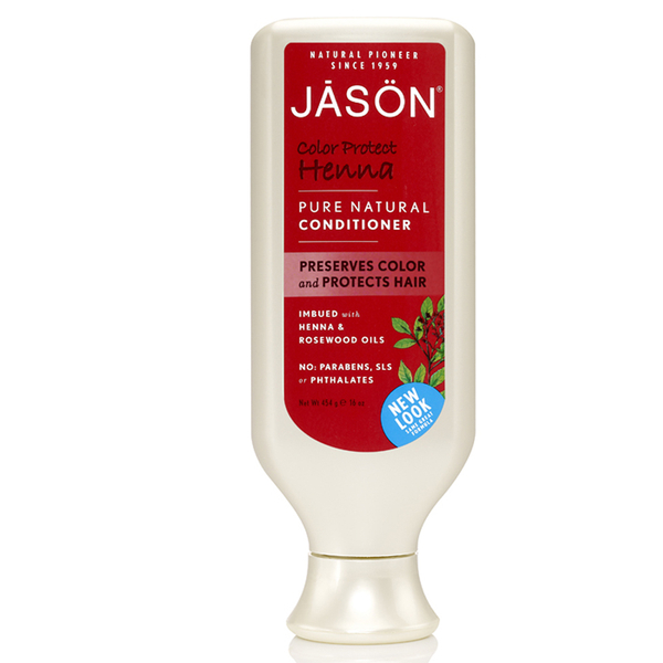 Color Protect Henna Conditioner de JASON (480ml)