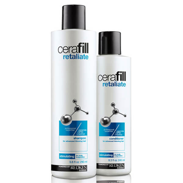 Redken Cerafill Retaliate Shampoo (290ml) & Conditioner (245ml) (Bundle)