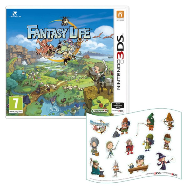 Fantasy Life (Includes Magnet Sheet)