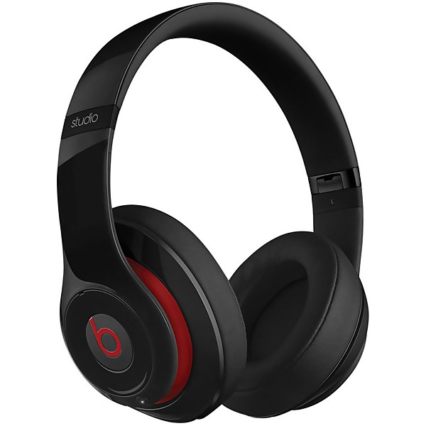 Beats By Dr. Dre: Studio 2.0 Noise Cancelling Wireless Headphones - Black - Apple Refurbished