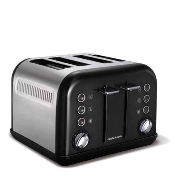 Morphy Richards Toaster: Morphy Richards 242002 New Accents 4 Slice Toaster