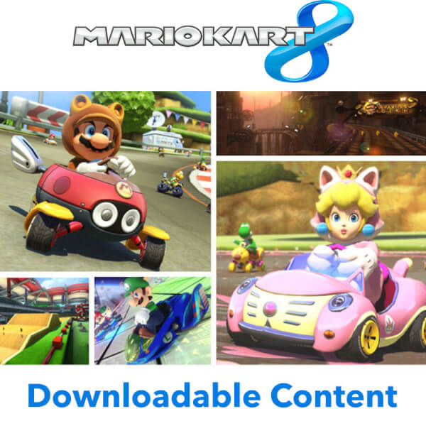 Mario Kart 8 - AOC Packs 1 + 2 Bundle - Digital Download