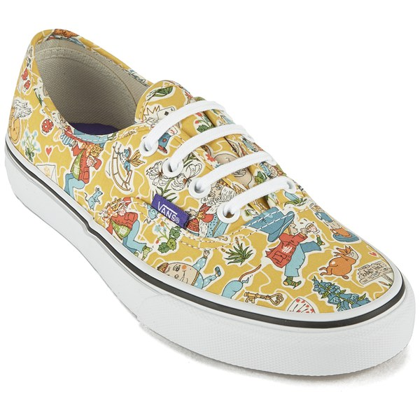 d696f210ce Vans Women s Authentic Liberty Trainers - Wonderland True White  Image 4