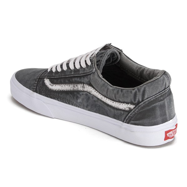 32c3faa96604 Vans Men s California Old Skool Reissue Vintage Sunfade Trainers - Black   Image 5