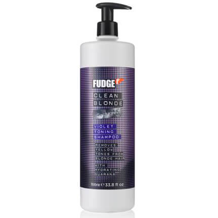 Clean Blonde Violet Shampoo de Fudge (1000ml)