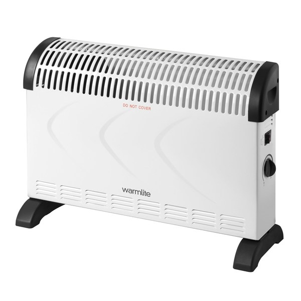 Warmlite wl41001 convection heater 2000w homeware for Convector mural