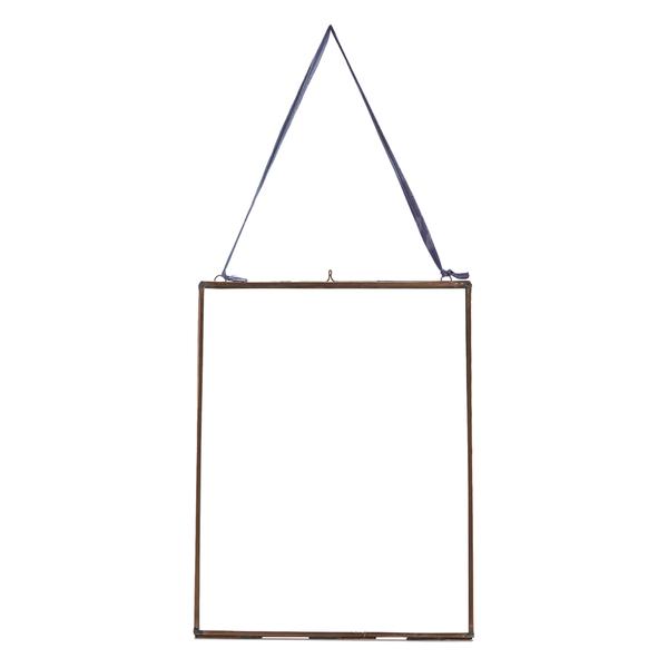 nkuku extra large kiko glass frame antique copper portrait 11 - Extra Large Frames
