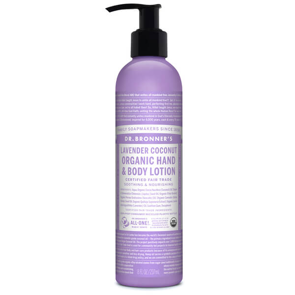 Dr. Bronner Organic Orange Lavender Lotion (237ml)