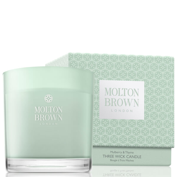 Molton Brown Mulberry and Thyme Three Wick Candle 480g