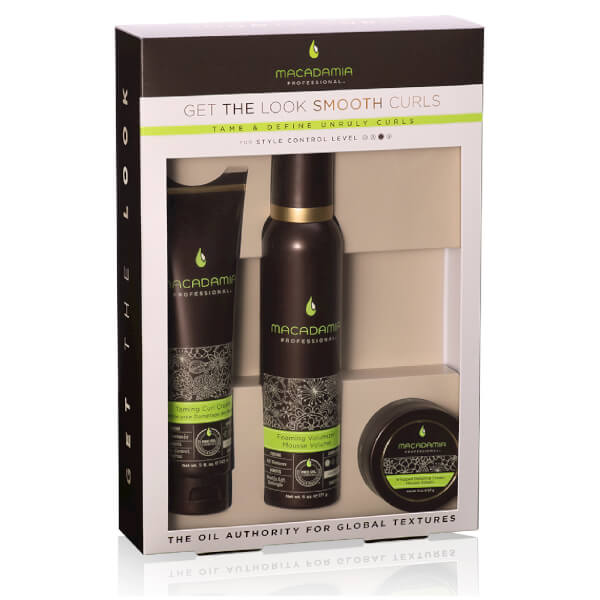 Macadamia Natural Oil 'Get the Look' Smooth Curls Set