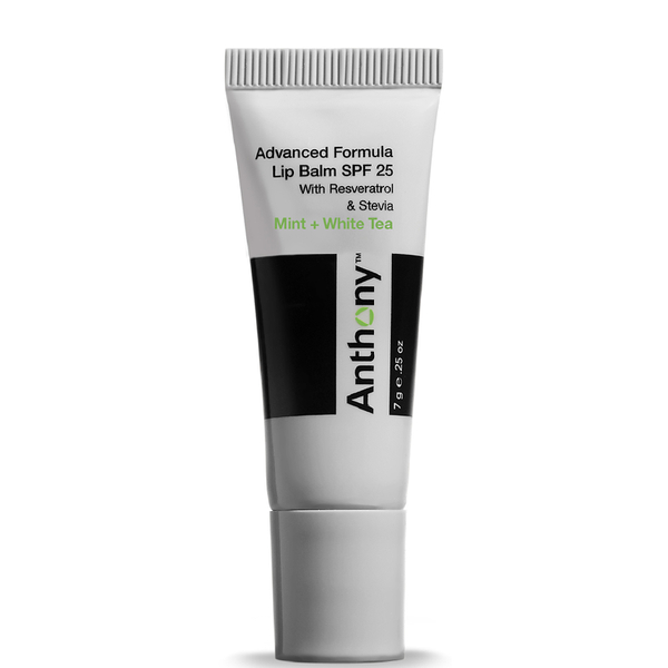 Anthony Mint And White Tea Lip Balm SPF 25