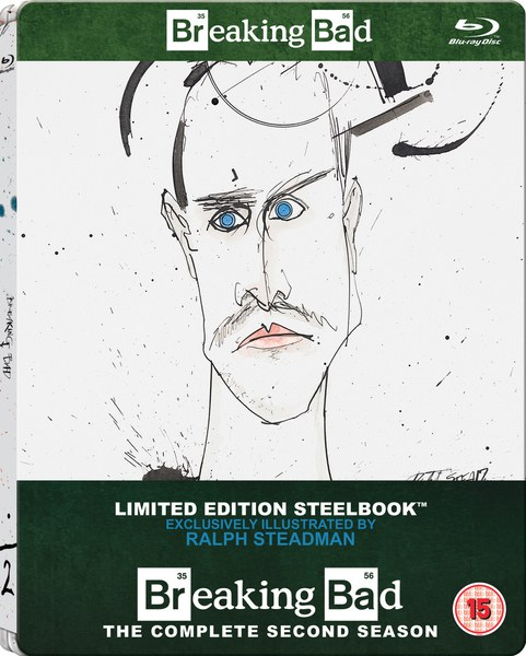 Breaking Bad: Season 2 - Zavvi Exclusive Limited Edition Steelbook (Includes UltraViolet Copy)
