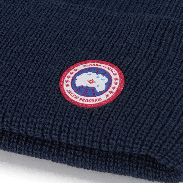 Canada Goose Merino Wool Watch Hat - Navy - Free UK Delivery over £50 e7e9fa6c893