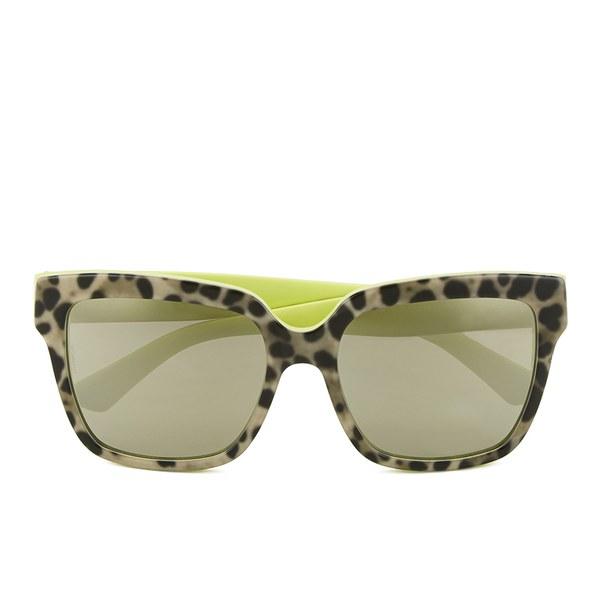 Dolce & Gabbana Enchanted Garden Women's Sunglasses - Leo/Yellow