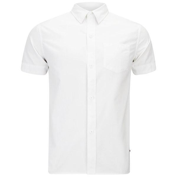 Han Kjobenhavn Men 39 S Mist Short Sleeved Shirt White