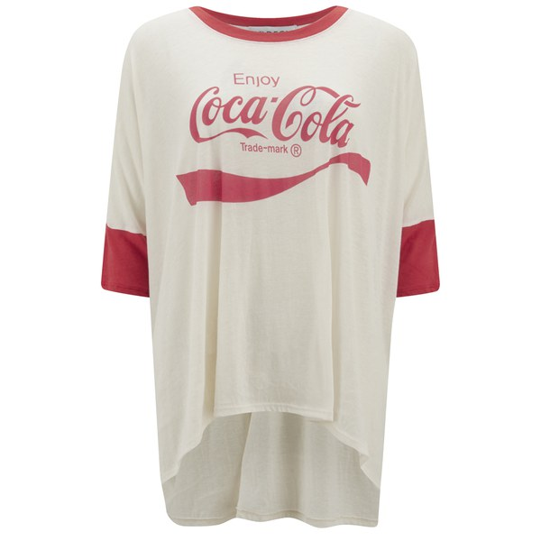 Wildfox Women's Sunny Morning Coca Cola T-Shirt - Vintage Lace