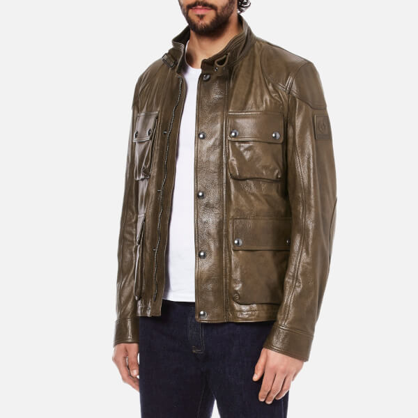 Belstaff Burgess Leather Jacket Review