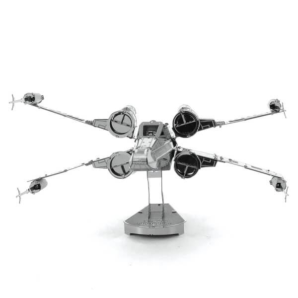 star wars x wing fighter metal construction kit iwoot. Black Bedroom Furniture Sets. Home Design Ideas