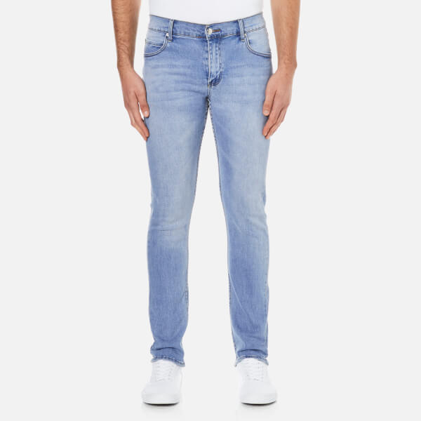 Cheap Monday Men's 'Tight' Skinny-Fit Jeans - Stonewash Blue