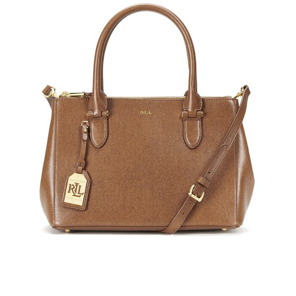 757d16b3673d Lauren Ralph Lauren Women s Newbury Zip Shopper Bag - Lauren Tan  Image 1