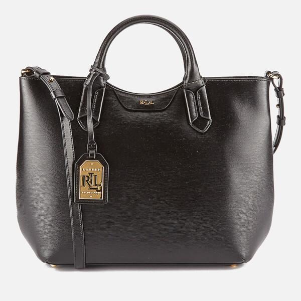 39b23d245163 Lauren Ralph Lauren Women s Tate Convertible Tote Bag - Black  Image 1