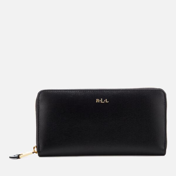 Lauren Ralph Lauren Women's Tate Zip Wallet - Black